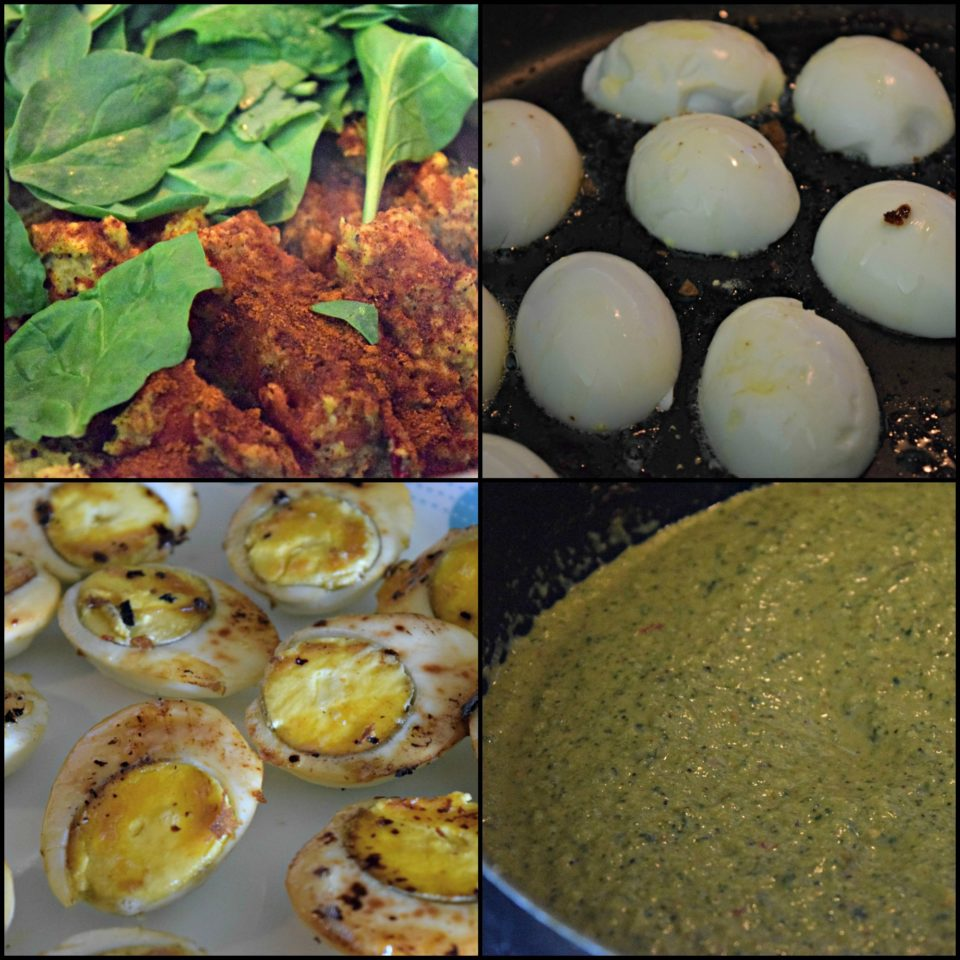 Kolhapuri Green Masala Egg Curry - Spicy and FieryCurries & Gravies