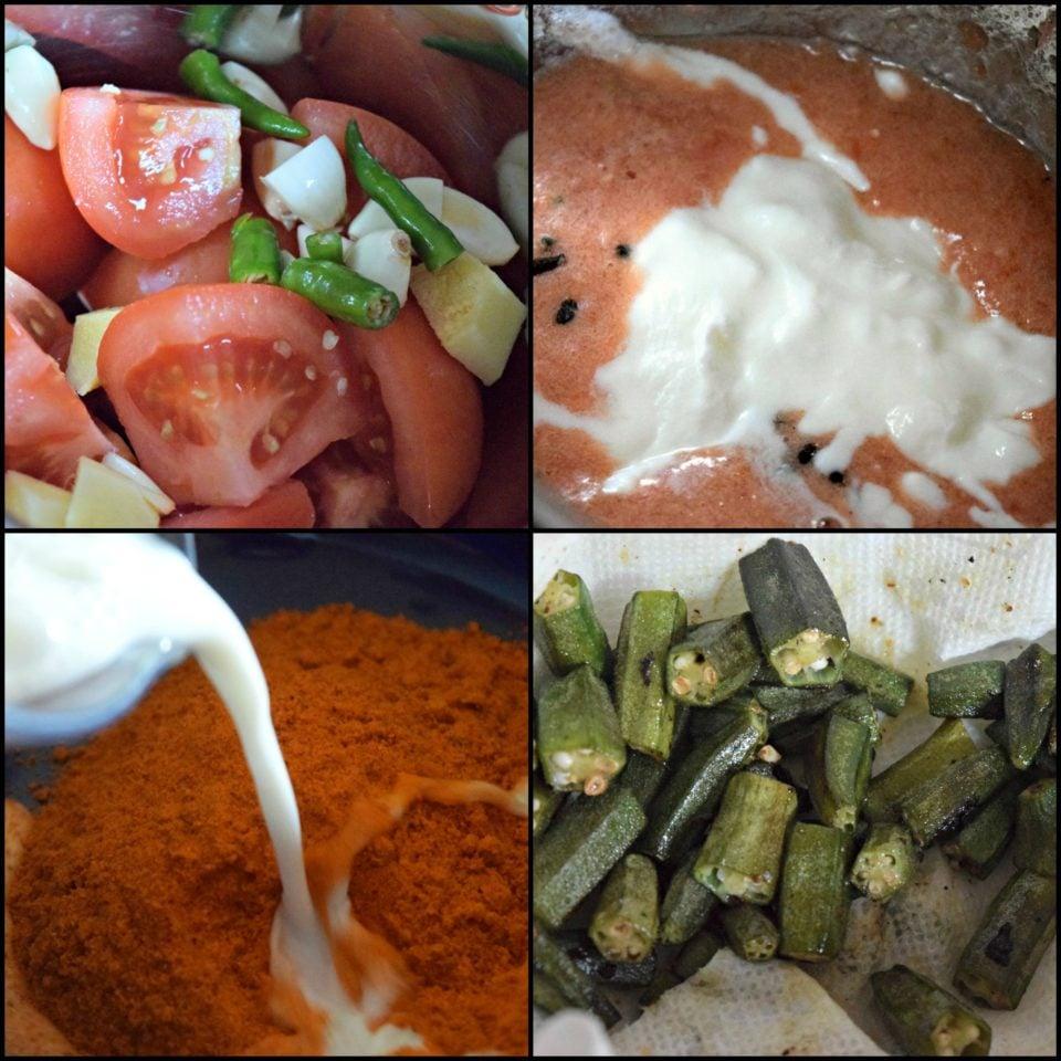 Okra/Bhindi Masala - Restaurant StyleCurries & Gravies