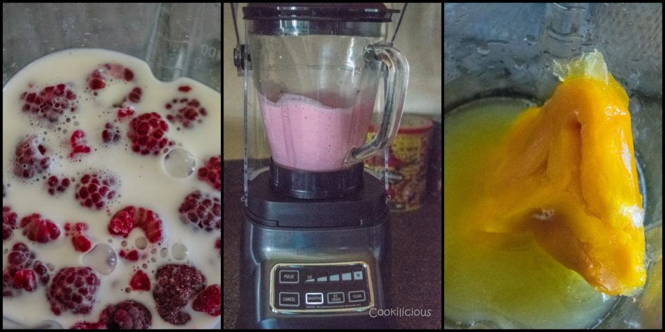 raspberry mango smoothie recipe