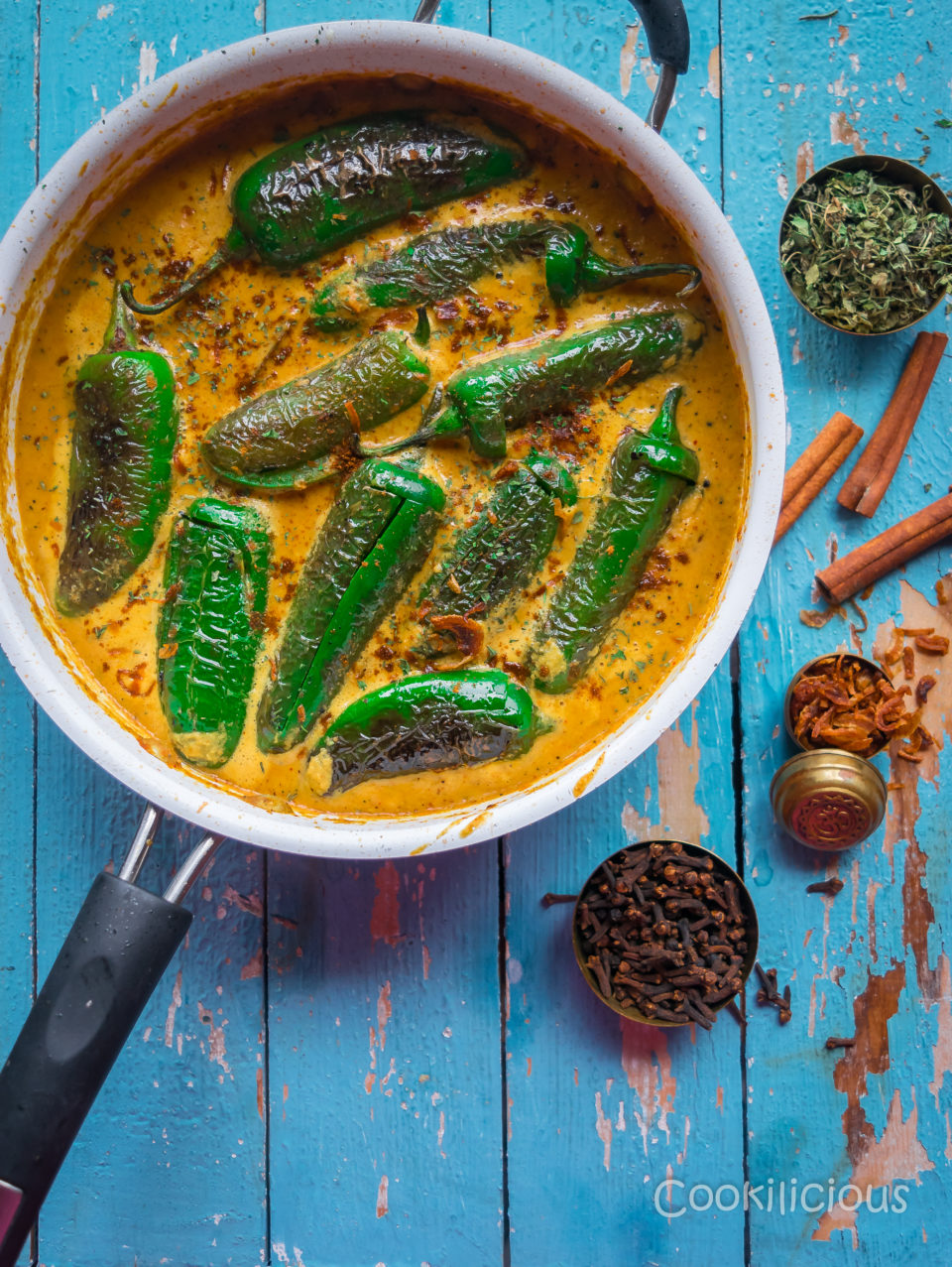 Mirchi Ka Salan | Curried Chilly PeppersCurries & Gravies
