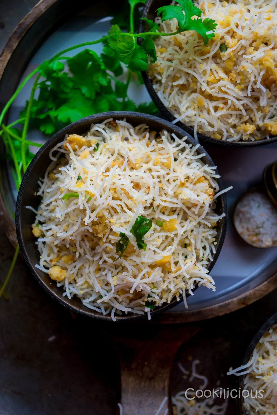 Lentil & Rice Noodles | Paruppu SevaiAppetizers & Snacks Power Breakfasts South Indian