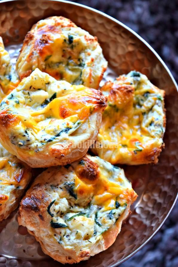 Spinach & Paneer Puffs