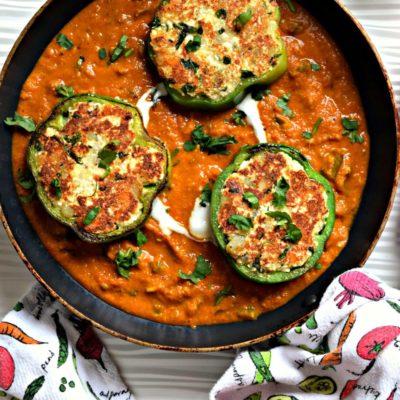 Chilly Paneer in Tomato Capsicum GravyCurries & Gravies
