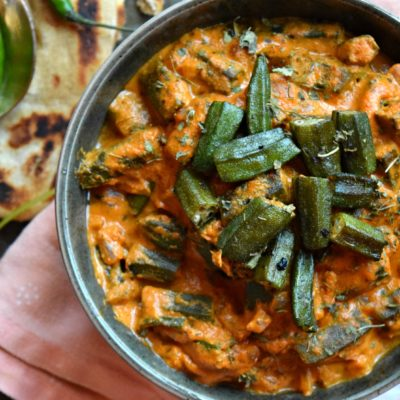 Okra/Bhindi Masala – Restaurant Style