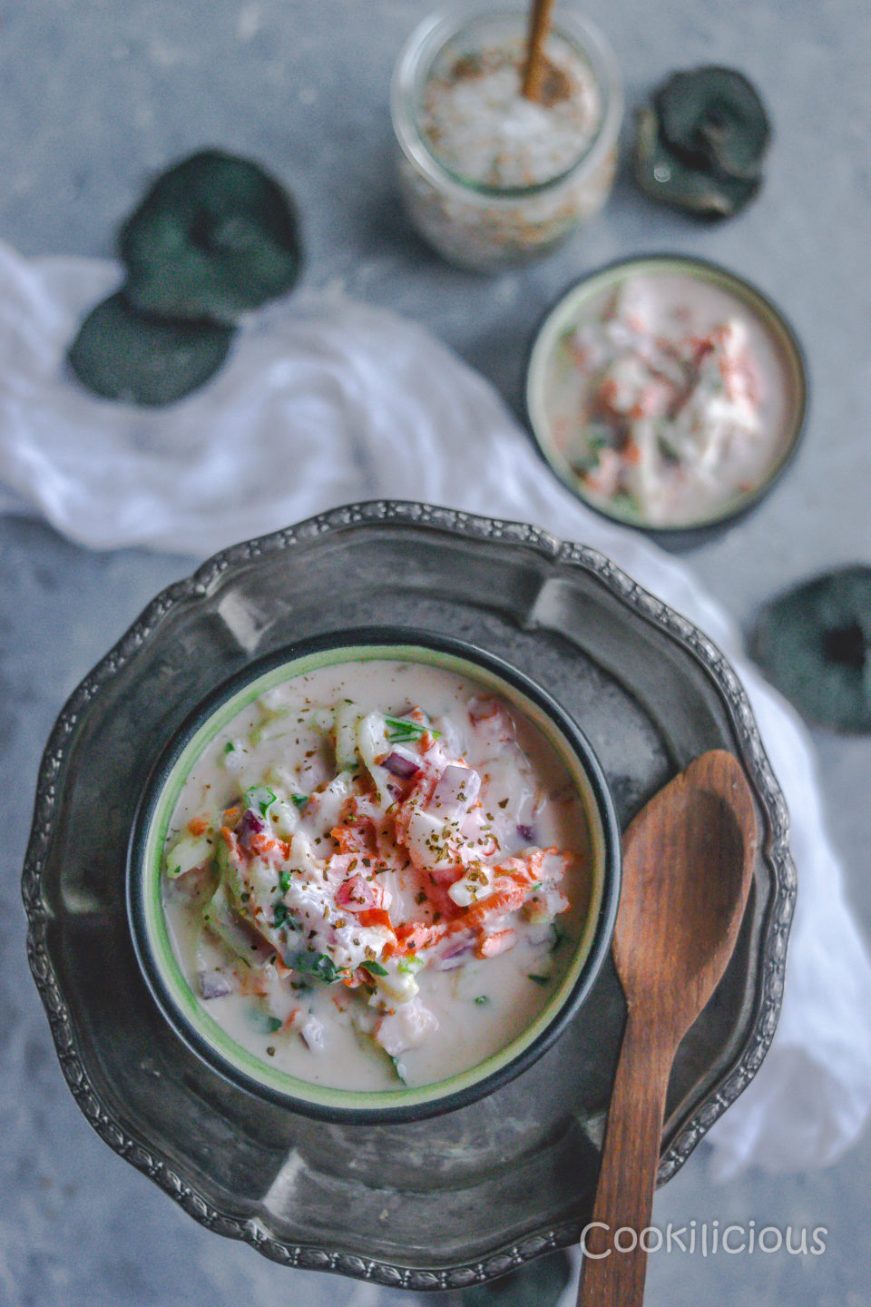 Maharashtrian Koshimbir | Indian Veggie & Yogurt SaladCondiments