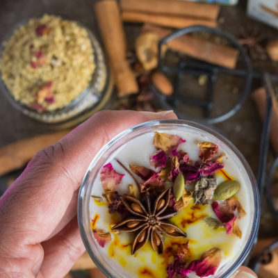 Vegan Milk Masala - Indian Protein Powder with Silk Almond CashewMilkKitchen Essentials