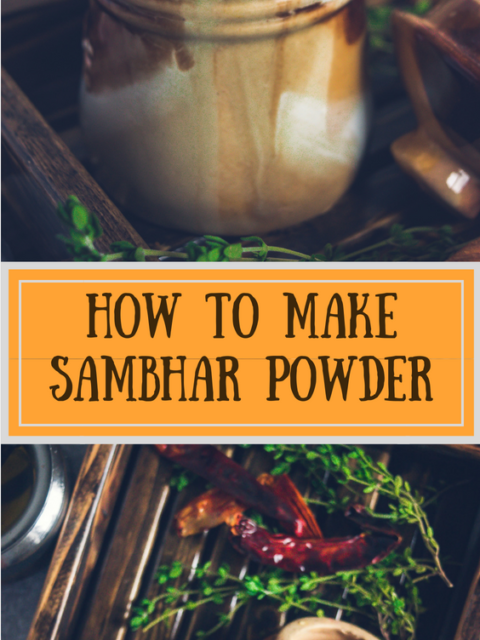 How to make Sambhar Powder at homeKitchen Essentials South Indian