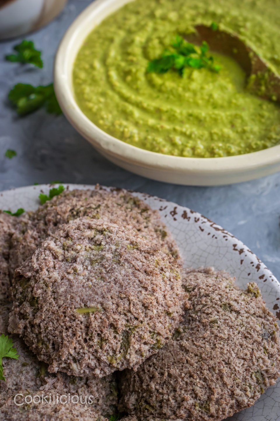 Ragi & Kale Idli | Finger Millet & Kale Steamed CakesAppetizers & Snacks Power Breakfasts South Indian