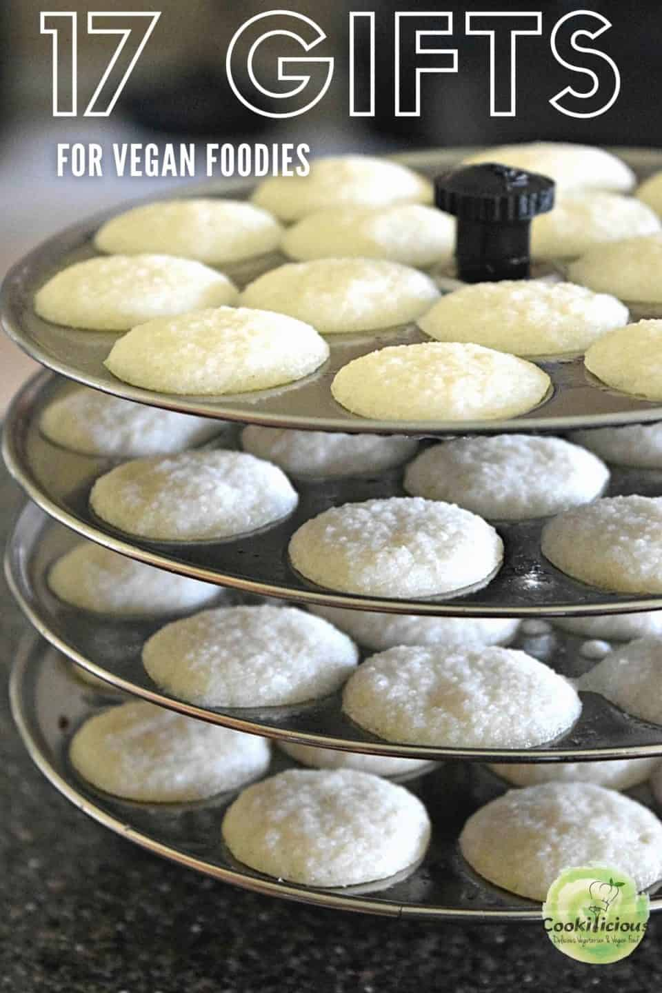 image of idli cooker with text at the top