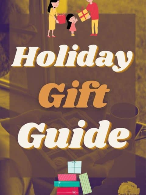 an image indicating that this is a holiday gift guide for Vegan Foodies or Home Cooks