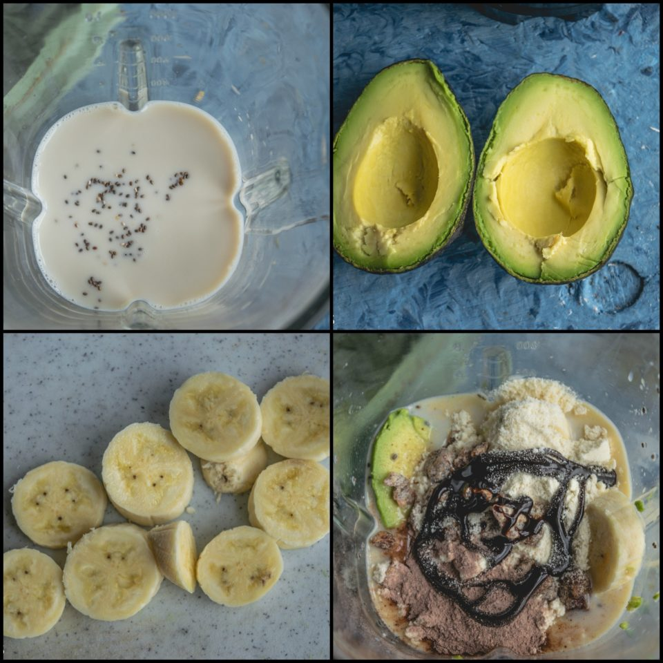 Dairy Free & Protein Packed Chocolate Avocado SmoothieDrinks Power Breakfasts
