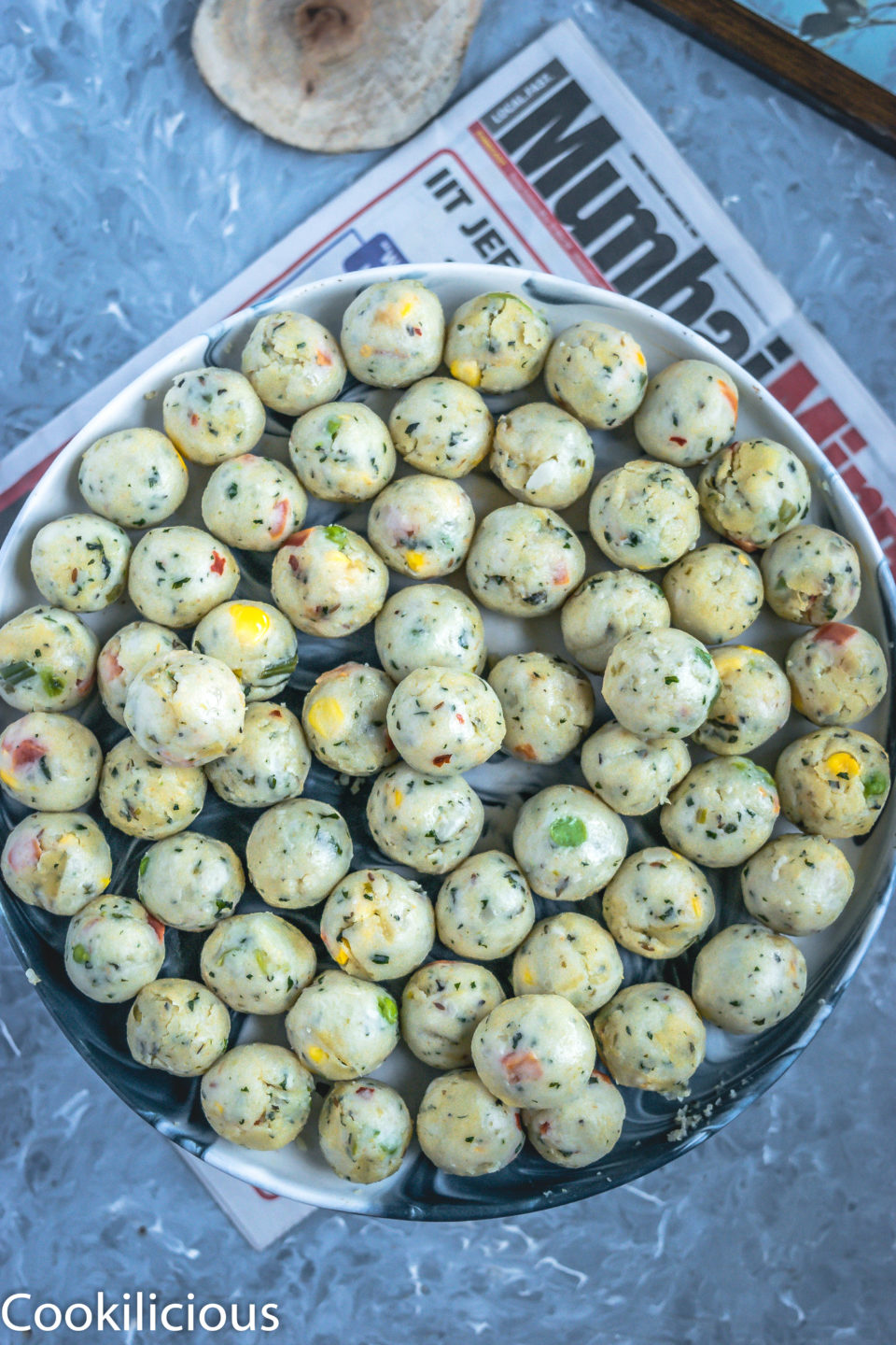 Semolina Vegetable Bites - Perfect Party Finger Food!Appetizers & Snacks