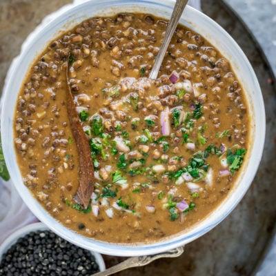 Simplest Black Lentils Stew | Kali Dal | Maa Ki DaalSoups & Lentils