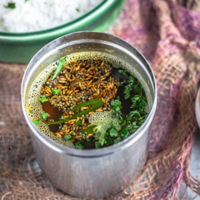 Simple South Indian Tomato Rasam With Pink LentilsSoups & Lentils South Indian