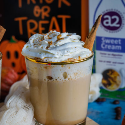 Homemade Spiced Coffee & Pumpkin Latte – Fall Special!