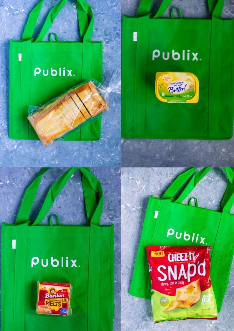 4 products shopped from Publix