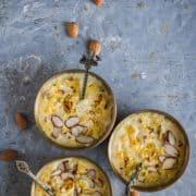 3 bowls of paal payasam